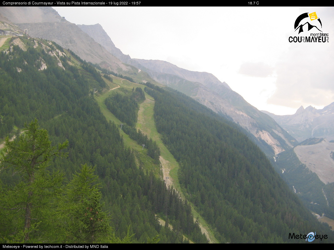 Courmayeur Plan Checrouit-Val Veny - Internazionale